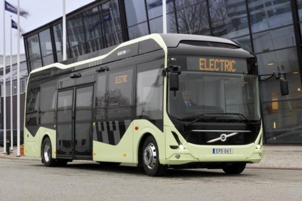 Nowy e-autobus Volvo na ulicach Göteborga