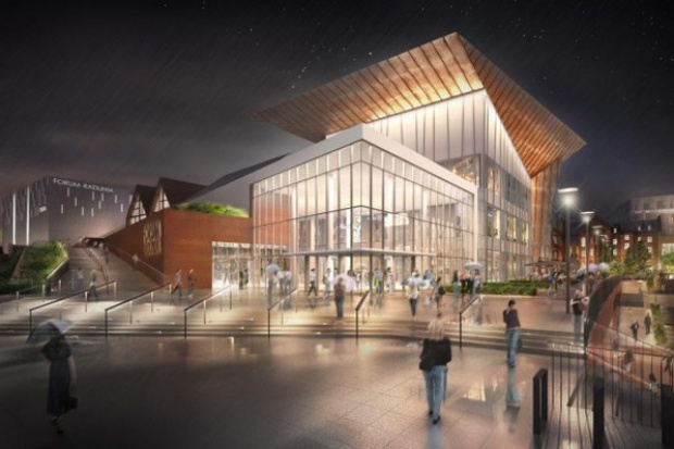 W 2017 r. otwarcie kompleksu handlowo-usługowego Forum Gdańsk