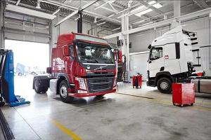 Jeszcze jeden obiekt Volvo Group Truck Center