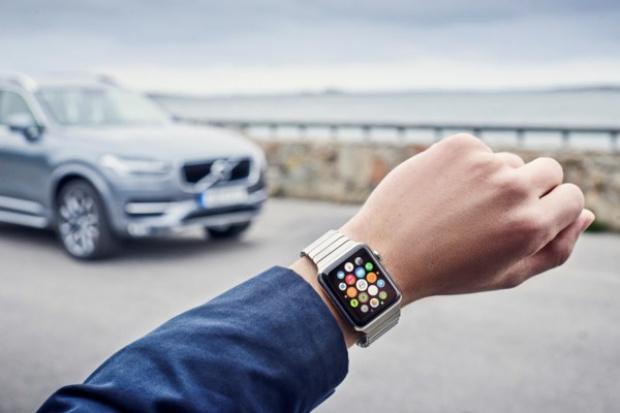 Apple Watch w systemie Volvo