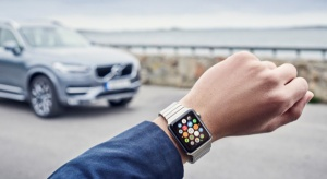 Apple Watch w systemie Volvo
