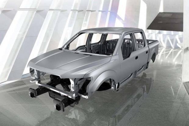 Aluminiowe ramy spowalniają produkcję Fordów F-150