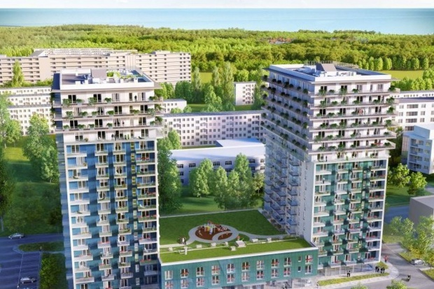 Belgowie wybudują 18-piętrowy budynek w Gdańsku