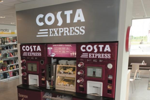 Pilotaż automatów do kawy na stacjach Lotos