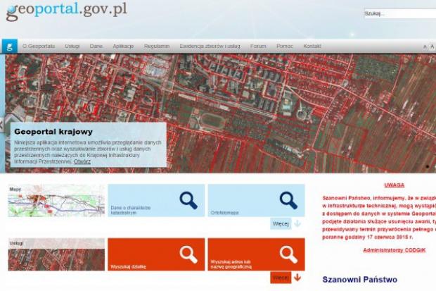 GUGiK rozwija Geoportal