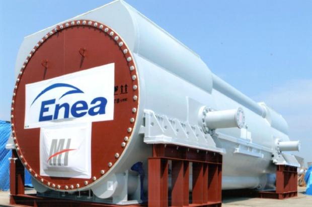 Generator nowego bloku elektrowni Kozienice przypłynął do Gdyni