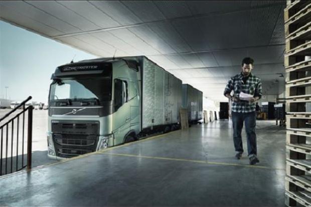 Volvo Trucks: tam gdzie liczy się super.... punktualność