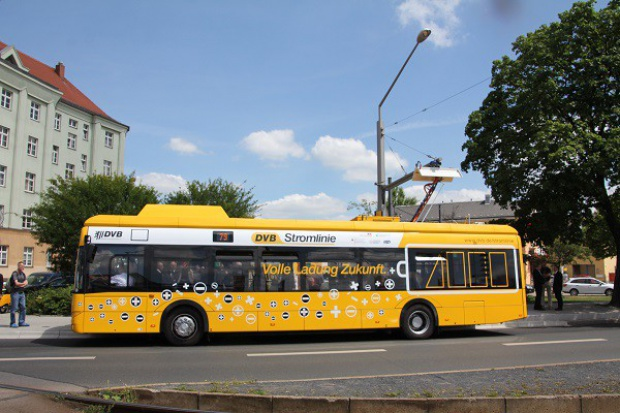Elektryczny Solaris w Dreźnie