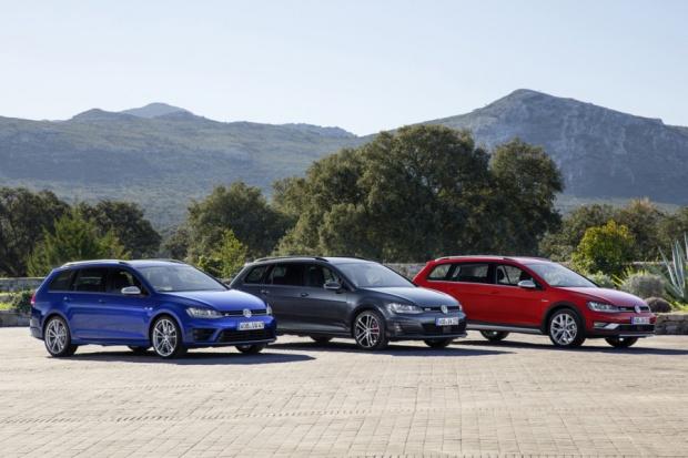 Trzy nowe varianty Golfa