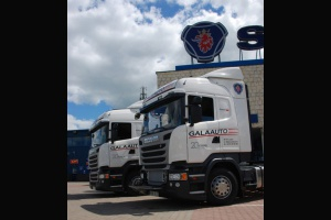 Galaauto odbiera ciągniki Scania