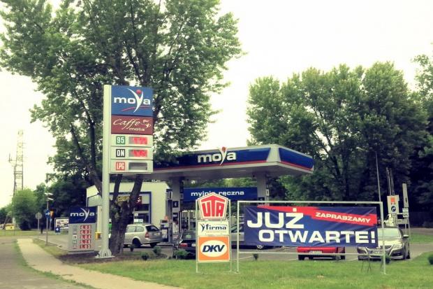 Pierwsza stacja Moya w Warszawie