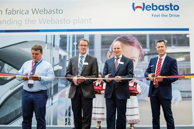 Webasto rozbudowuje fabrykę w Rumunii