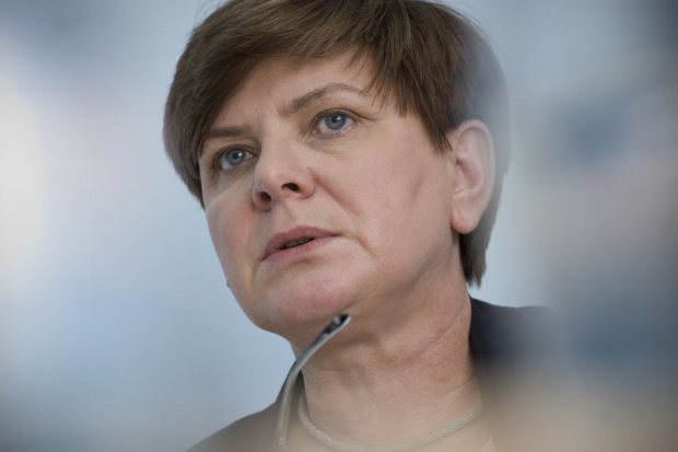 Beata Szydło wypowiedziała się na temat wprowadzenia euro