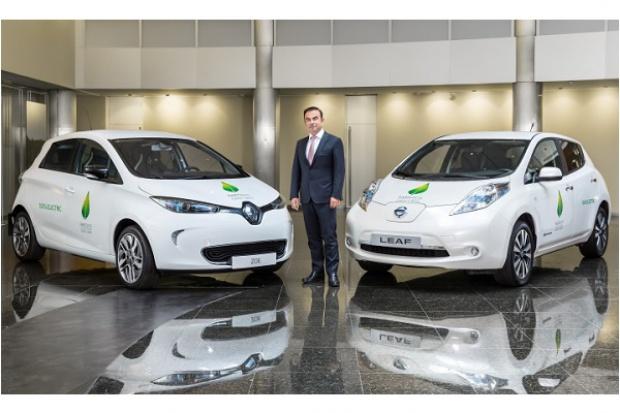 Alians Renaul-Nissan wydał ćwierćmilionowe e-auto