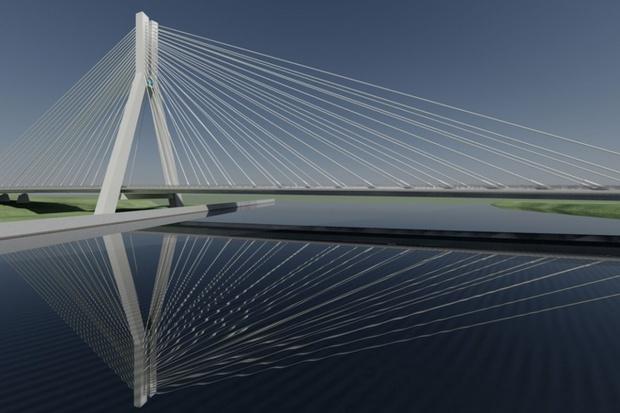 ArcelorMittal zbroi most na Wisłoku