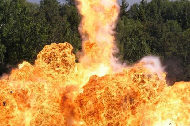 Wybuch w zakładach gazowych niedaleko Lyonu