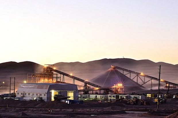 Decyzja o rozbudowie chilijskiej kopalni KGHM w 2016 r.