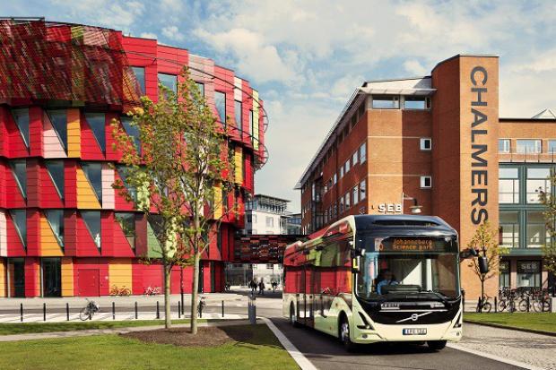 Volvo w Göteborgu: tylko e-autobusy i hybrydy