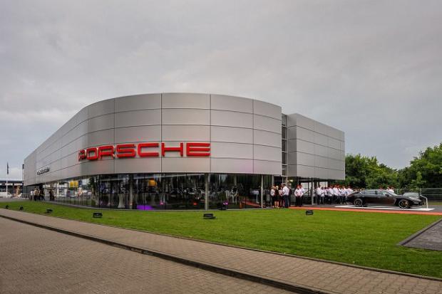 Największy salon Porsche działa pod Wrocławiem