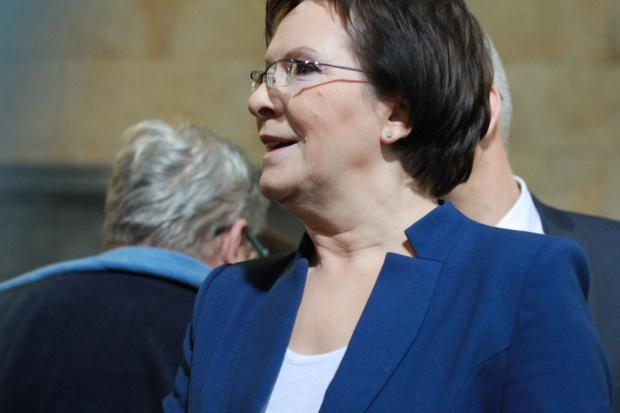 Premier Ewa Kopacz spotkała się z żonami górników