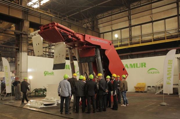 Famur przetestował zmechanizowane obudowy dla kopalni Mysłowice-Wesoła