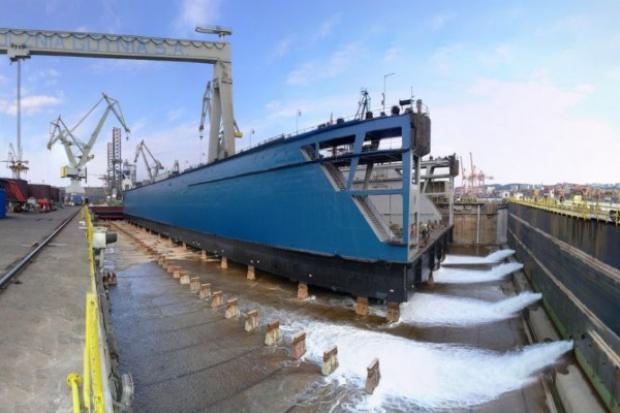 W stoczni Nauta zwodowano dwa statki