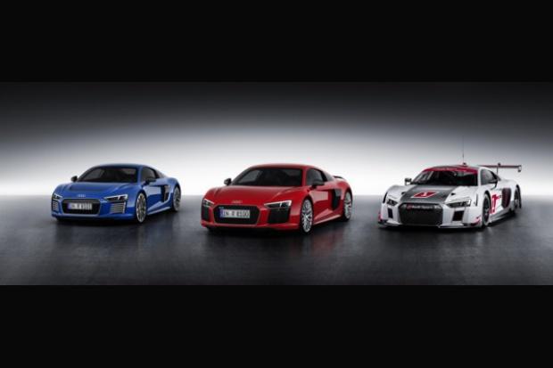 Audi powoli pnie się w górę