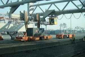 Wyższe obroty portów w Rotterdamie i Antwerpii