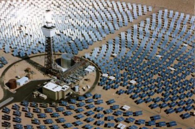 Chiny budują największą elektrownię słoneczną w kraju