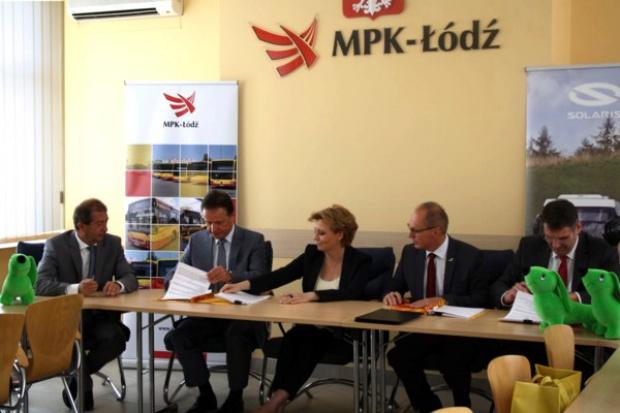 Solaris dostarczy 40 autobusów do MPK-Łódź