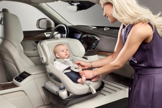 Volvo zaprezentowało dziecięcy fotelik przyszłości