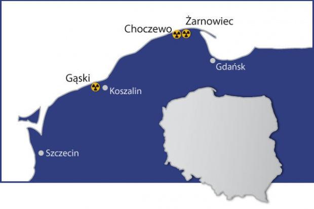 PGE EJ 1: preferowana lokalizacja elektrowni jądrowej pod koniec 2017 r.
