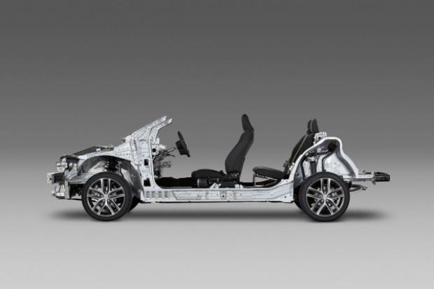 Toyota wprowadzi modułową platformę TNGA