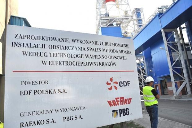 Rafako finiszuje z odsiarczaniem dla EDF w Krakowie