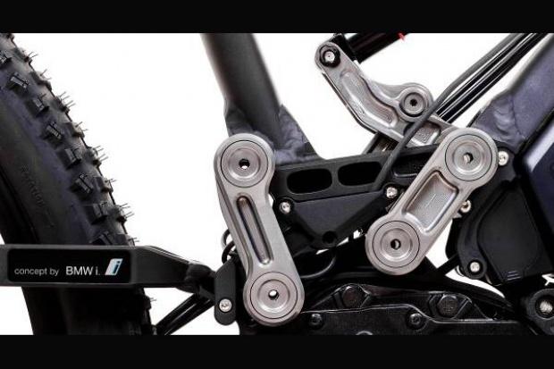 Patent z prac nad BMWi w elektrycznym rowerze