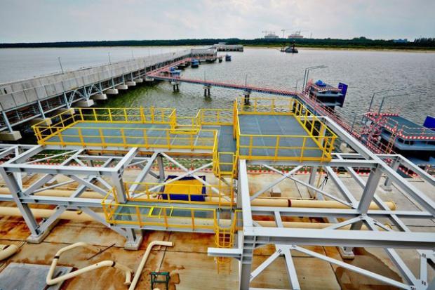Minister skarbu: odbiór LNG w gazoporcie jeszcze w 2015