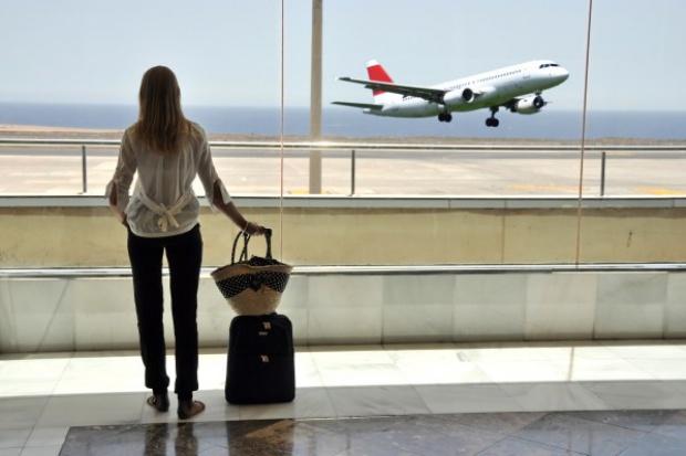 Pełna samoobsługa pasażerów na lotnisku w Nicei