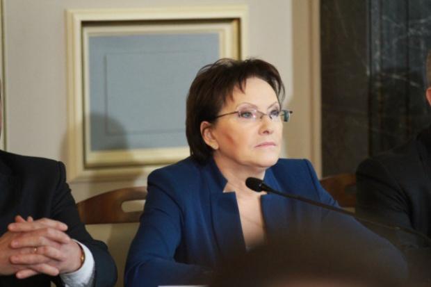 Premier Ewa Kopacz odwiedziła elektrownię Kozienice