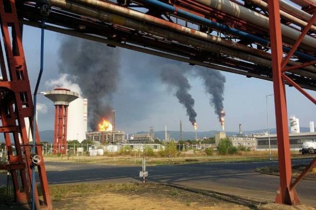 Trwa wyjaśnianie przyczyn pożaru w spółce Unipetrolu