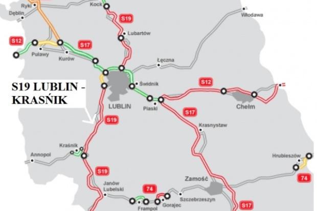 GDDKiA ogłosiła przetarg na trzy odcinki drogi S19