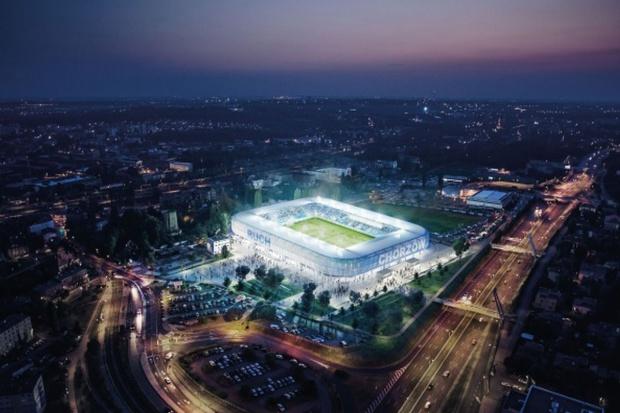 Chorzów zaprezentował makietę nowego stadionu