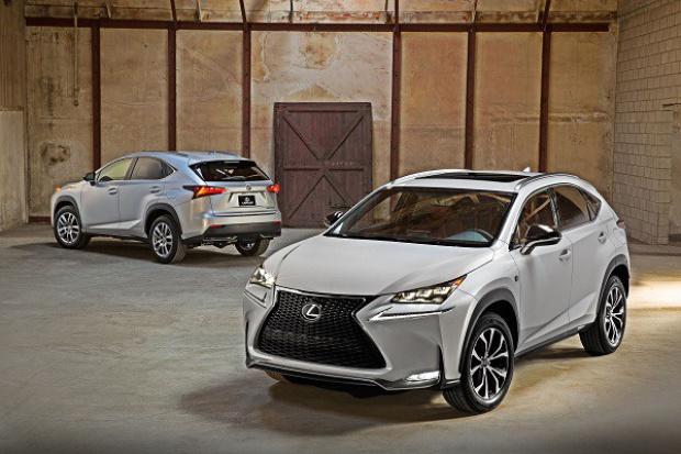 Lexus coraz wyżej
