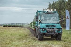 Unimog do rolniczych poruczeń