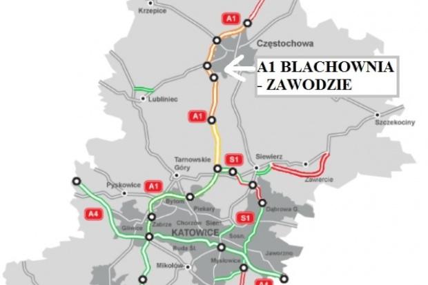 Drugi kontrakt na A1 Pyrzowice - Częstochowa podpisany