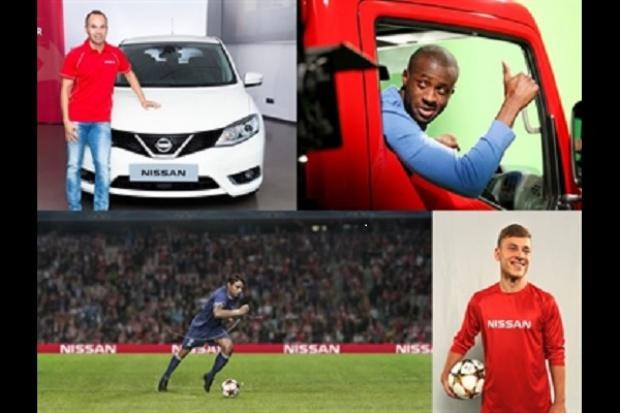 Nissan rozszerza współpracę z UEFA Champions League