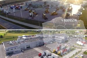 Nowe oddziały regionalne Volvo Maszyny Budowlane Polska