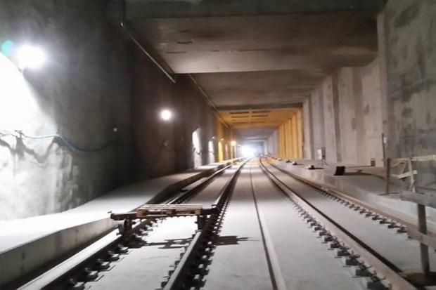 Tunel do dworca Łódź Fabryczna gotowy w 90 proc.