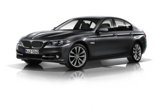 BMW serii 5 w służbie... taxi