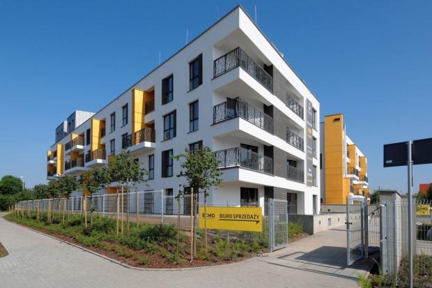 Mieszkaniowy projekt Echo Investment gotowy