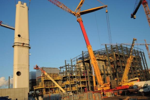 Budowa spalarni w Szczecinie przekroczyła półmetek